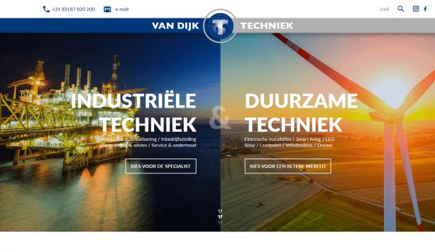 Van Dijk Techniek Website