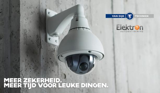 Beveiligingcamera's & netwerk door Van Dijk Techniek en Elektron Automatisering